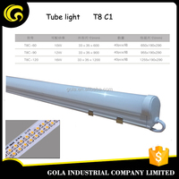 3ft white intergrated plastic T8 900mm SMD2835 12W led tube light circular 3ft led tube light t8 tube light