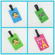 Best quality price custom print PVC airline luggage tag