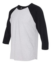 High Quality Wholesale White Bulk Blank Raglan Sleeve T Shirt With Long Sleeve
