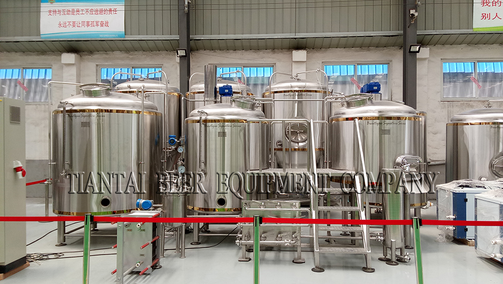 1200L/12HL microbrewery lagern beer plant