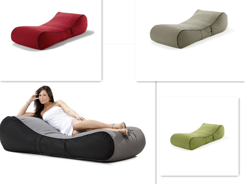 Hot sale long adult sex beanbag sofa chair