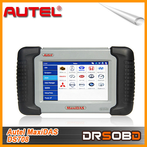 All Systems Autel Diagnostic Tool Mxidas DS708 for All OBD2 Connector Cars Automotive Diagnostic Equipment