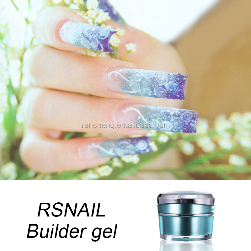 2016 Soak off nail clear uv led Extension Gel builder gel