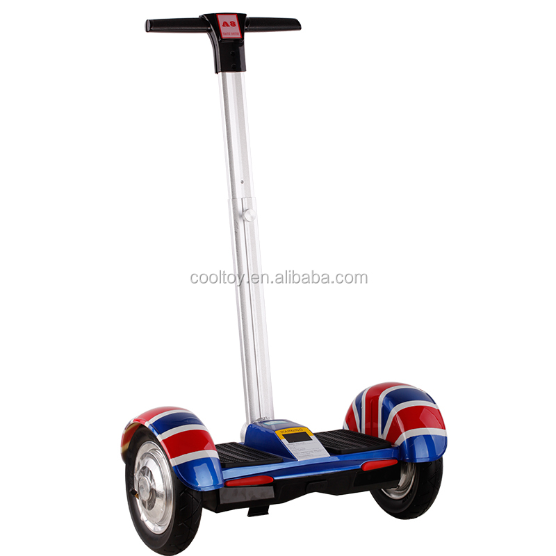 A8 10inch Electric Big Wheel Mobility Balance Chariot Scooter With Handle