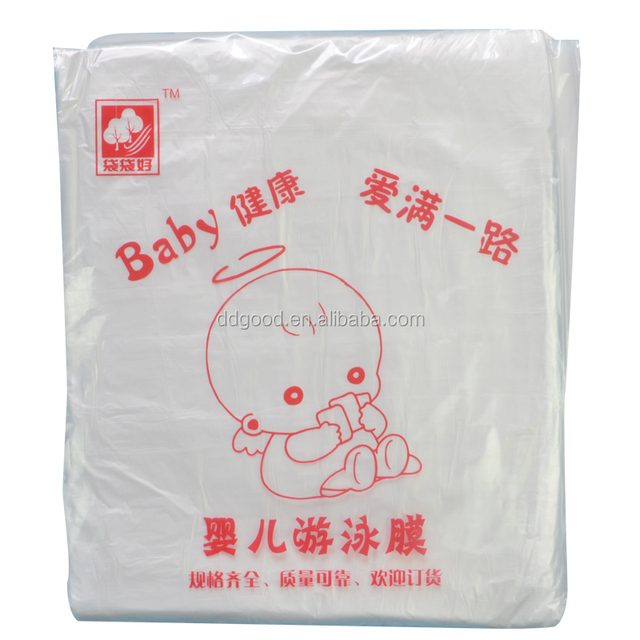 Clear plastic bathtub bag Disposable swimming liners
