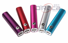 Aluminum case power bank, mobile power supply, portable battery charger with button