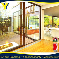 AS/ NZ 2047 Europe Style Hot sale YY House Outside Aluminum door