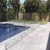 glass wall prices with tempered glass pool fencing