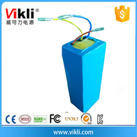 Lithium Ion Battery 36V 10Ah Electrical Bicycle And Portable E Bike