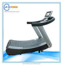 Body perfect Cardio Fitness Machine Commercial Treadmill Crawler(10.1'' touch screen)/Running machine