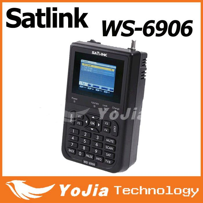 Original Satellite Finder Meter WS-6906 Satlink DVB-S FTA Digital Receiver