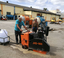 Diesel Concrete Cutting Floor / Road Saw