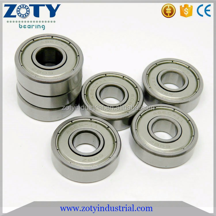 8x22x7mm 608ZZ 608 2RS High speed abec 11 skateboard bearings