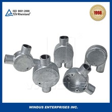 Trade assurance electric metal conduit and fitting for juction box