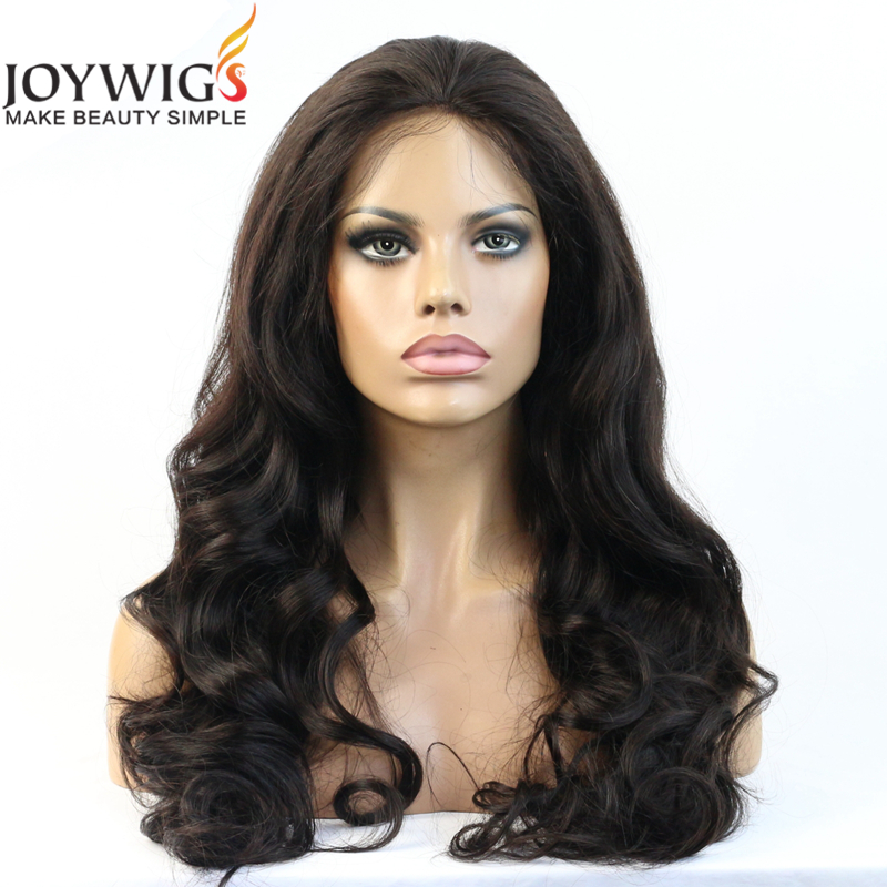 Super wave 1b Black Color Hair Wig So Beautiful and Very Cheap Price Indian Remy Human Hair Lace Front Wig