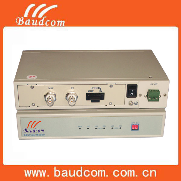 Electrical DS3/E3 to Fiber optical Modem