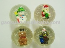 Christmas 3D Bouncing ball