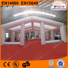 Hot sale commercial cube large inflatable tent for sale