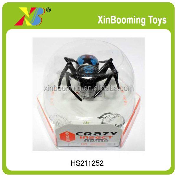 Crazy !!! Inflatable toys for kids B/O Light jumping spider toys