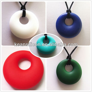 2013 15 colors Silicone Teething Toys Wholesaler/Food Grade Chewable Toys For Autism
