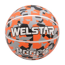 Best Selling Full Printing Colorful Rubber Basketball