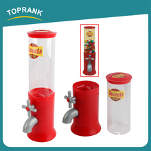 Toprank Mini Vending Machine Candy Dispenser Toy,Cereal Candy Food Dispenser,Plastic Candy Machine Dispenser