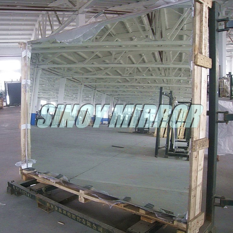 China 2mm 3mm 4mm 5mm 6mm large sheet aluminium mirror glass / aluminized looking glass, aluminium mirror supplier