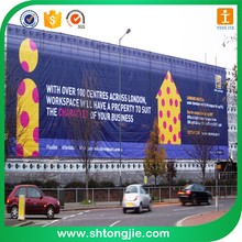 Outdoor Roadside Waterproof Advertising Mesh Banner Printing For Decorative Signage