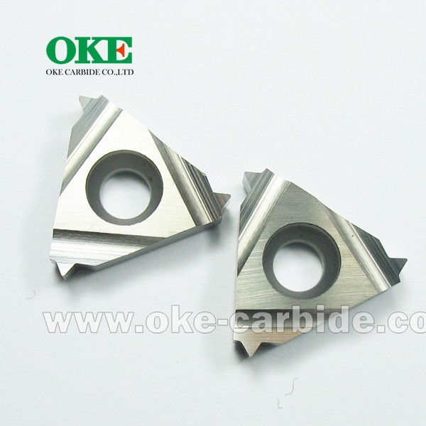 High precision carbide insert/indexable threading inserts/ RT1601L-200ISOM /ISO metric treads