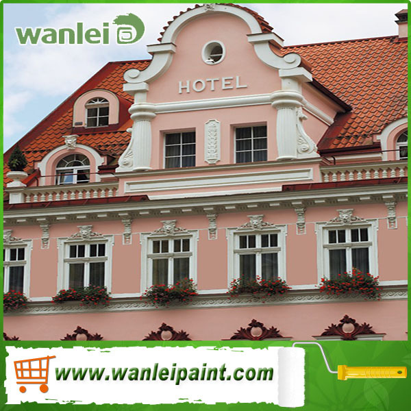 beautiful and high quality acrylic paint exterior wall paint emulsion paint