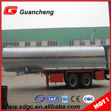 Factory price 45000 liters fuel tanker trailer small aluminum fuel tank trailer