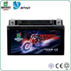 sealed lead acid battery for 100cc suzuki motorcycle
