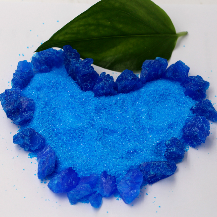 Made in China grade feed grade agriculture grade cuso4 blue crystal copper sulphate price