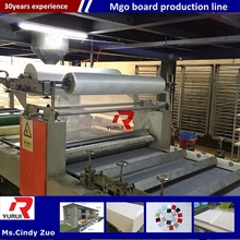 lighter production line mgo partition board making machine Yurui brand/magnesium oxide board production completed plant