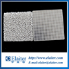 Alumina cordierite ceramic honeycomb filter plate for steel, iron, aluminum and copper casting filtration