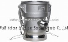 OEM stainless steel hydraulic quick release coupling