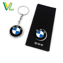 Tailor made professional Die Casting Car Brand Logo nickel Plating Swivel Promotion Key Chain