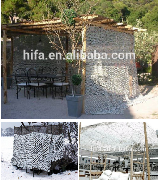 Mesh camo hunting netting Snow white camouflage net military outside Sunshade