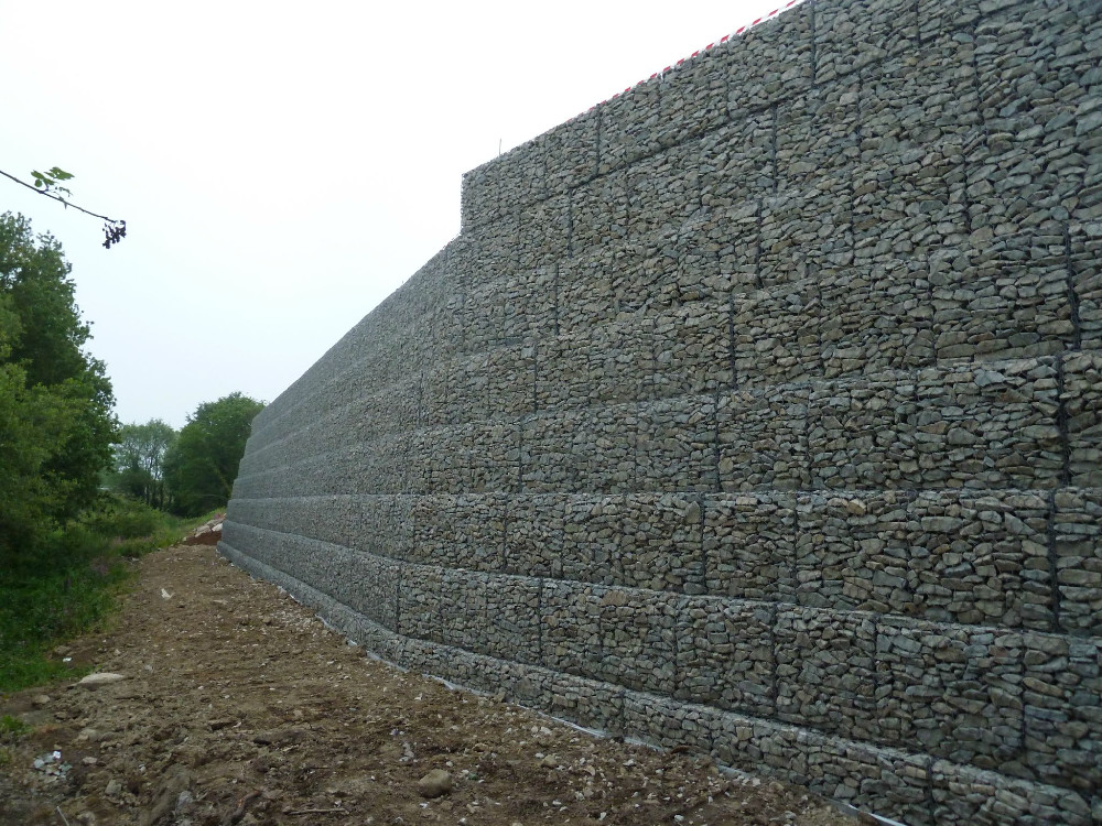 high quality retaining wall design gabion basket. Black Bedroom Furniture Sets. Home Design Ideas