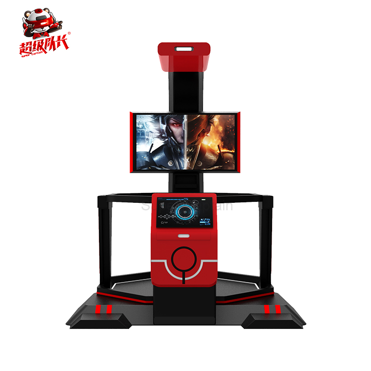 Update games every month newest Transformers shooting 9d vr walking platform+dropshipping video games