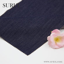 Blue Color Poly Cotton Twill Denim fabric