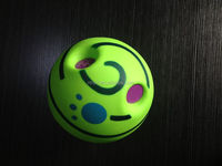 2015 new arrivel PVC giggle ball pet accessory dog toy for dog treat