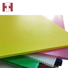 Large 3mm thick corrugated polypropylene plastic sheets 4x8