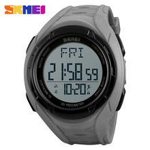 Factory direct fashion pedometer sport watches 3D skmei 1315 calender with world clock