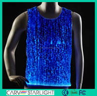 2015 luminous mens party wear illuminated led lighted t-shirt