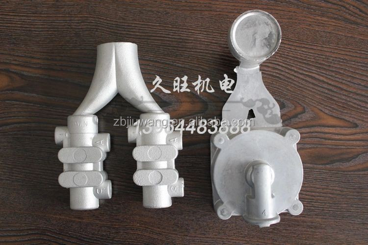 high pressure pouring aluminum alloy die casting machine parts