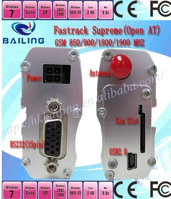 GSM/GPRS modem Fasttrack Supreme 20 with wavecom Q2687 sms gateway