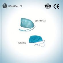 Disposable Surgical Nonwoven Hotel Paper Bouffant Cap