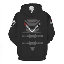 Fashion Popular Design Overwatch Hoodie Sweater Coat Cosplay Costume High Quality Cosplay Sweatshirts