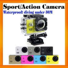 Cheapest Waterproof HD 720P Sports camera SJ4000